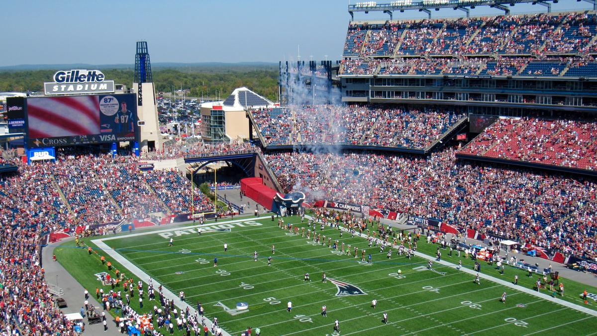 guide to tailgating at Gillette Stadium