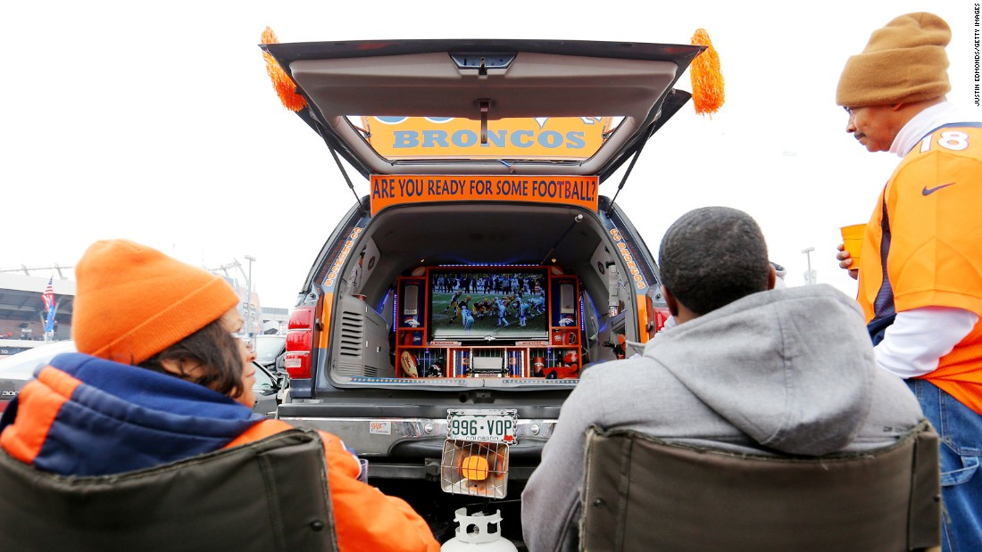 How to stream at a tailgate