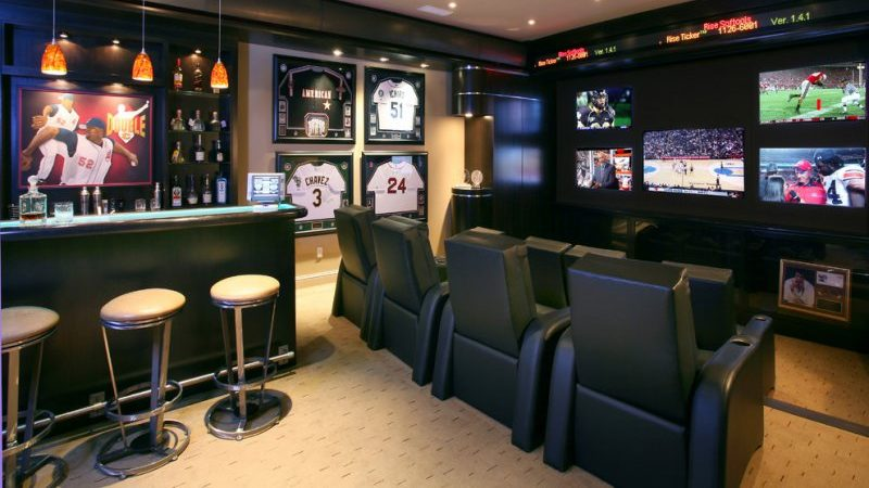 man cave bar ideas