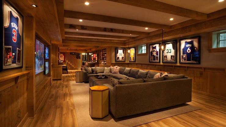 How to Design a Basketball Man Cave
