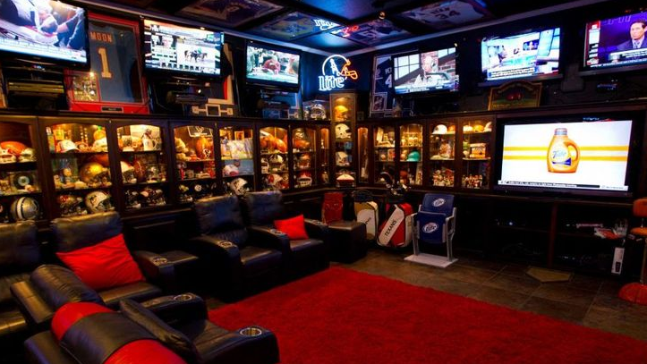 How to Design a Football Man Cave