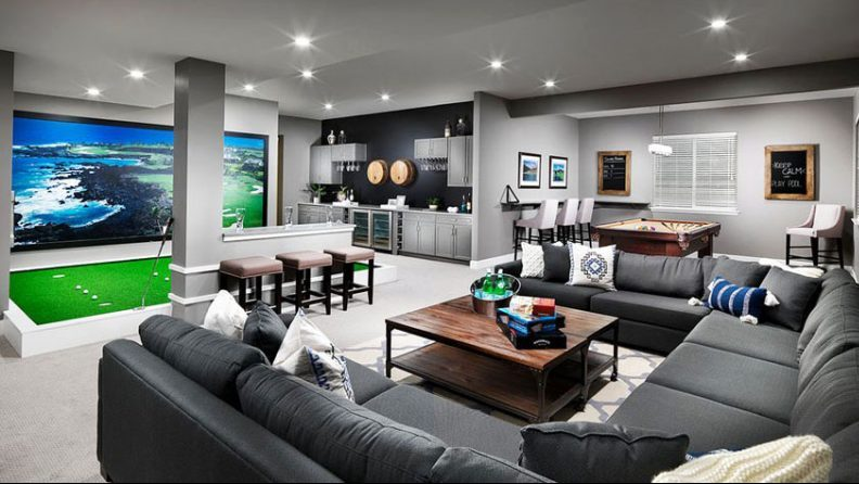 How to Design a Golf Man Cave