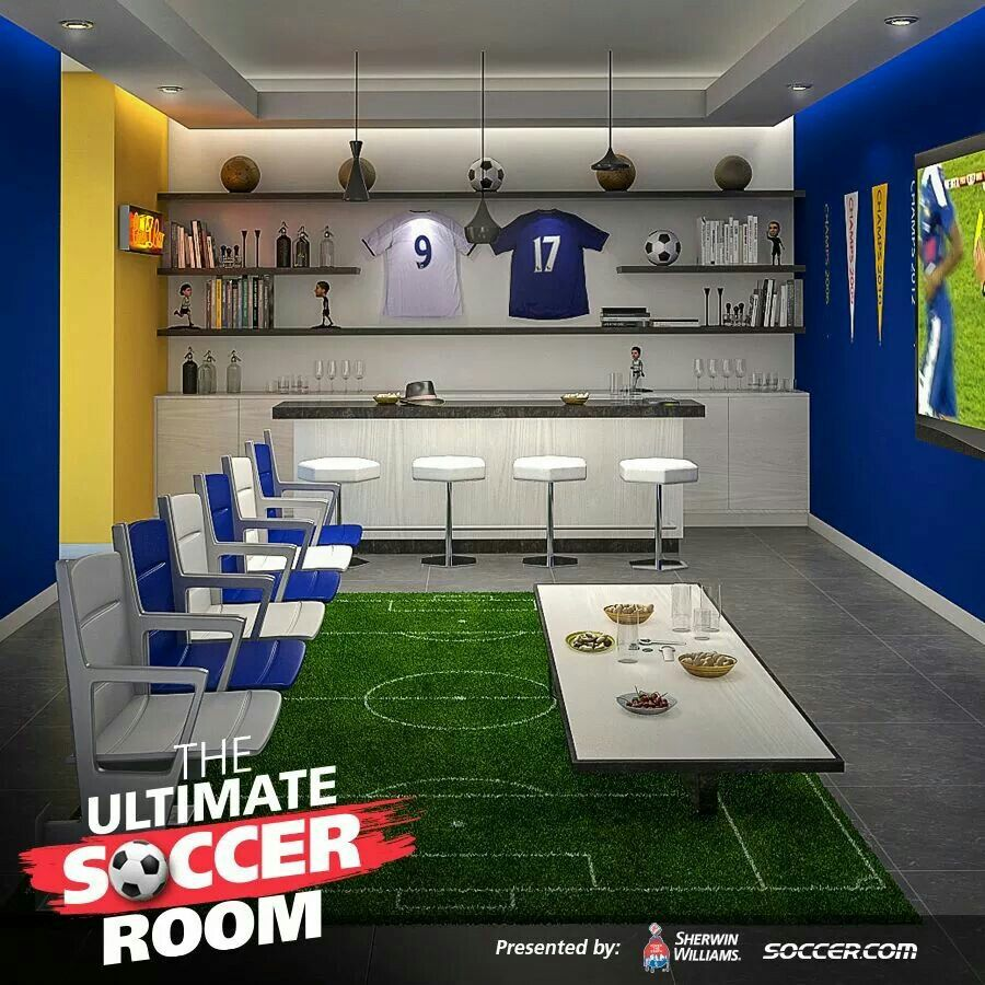 How to Design a Soccer Man Cave